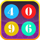 Go 4096 addictive puzzle game icon