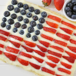 Fourth Of July Cheesecake.