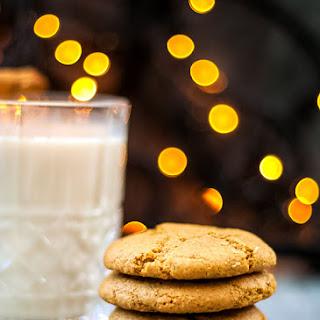 Gluten Free Eggnog Cookies.