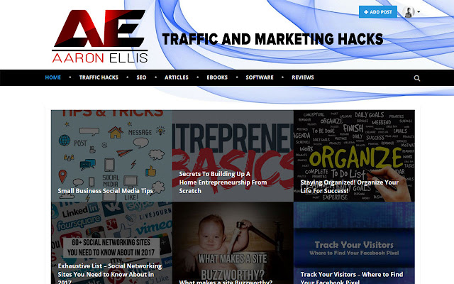 Aaron Ellis Traffic and Marketing Hacks