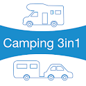 Camping 3in1 icon