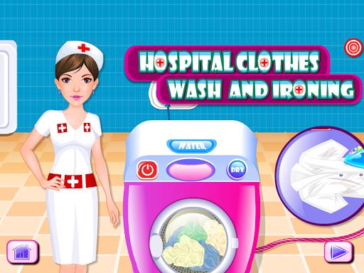 服のクリーニングゲームを洗います