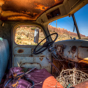 Moab Pickup by Bud Branch - Artistic Objects Other Objects ( hdr, truck )