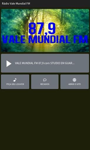 Rádio Vale Mundial FM