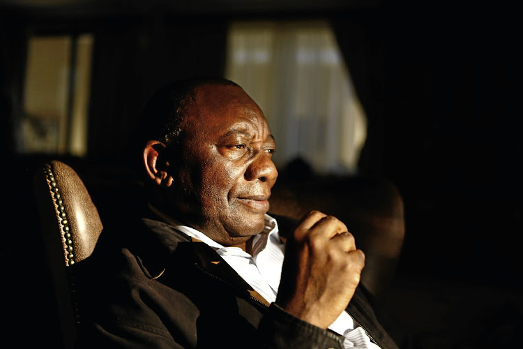 Deputy President  Cyril Ramaphosa. File photo.