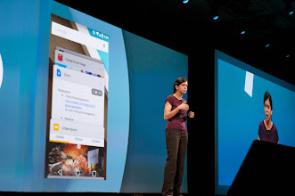 Photo: Avni Shah shared some thoughts on mobile web experiences on Android.