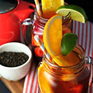 Pomegranate Lavender Iced Tea