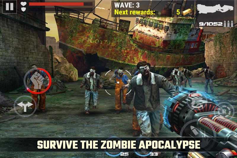 DEAD TARGET: FPS Zombie Apocalypse Survival Games Screenshot 2