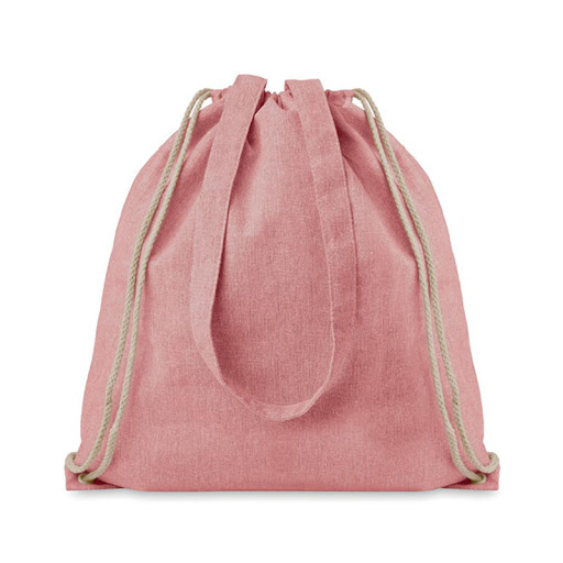 Recycled Cotton Drawstring Bag