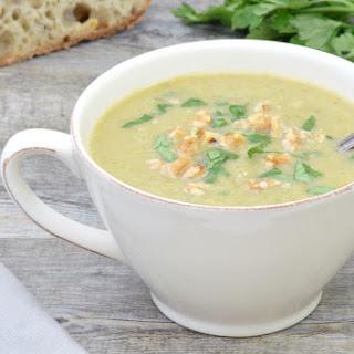 Broccoli & Parsnip Soup [Vegan] Recipe