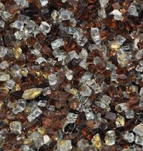 "Photo: 1/4"" Tuscan Sun colorFUSION Fire Glass - http://www.blazingglass.com/premixed-fireplace-glass/quarter-inch-tuscan-sun-colorfusion.php"