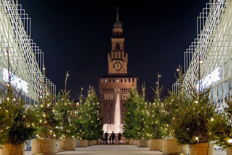 Natale in piazza Cairoli di Mauro Moroni