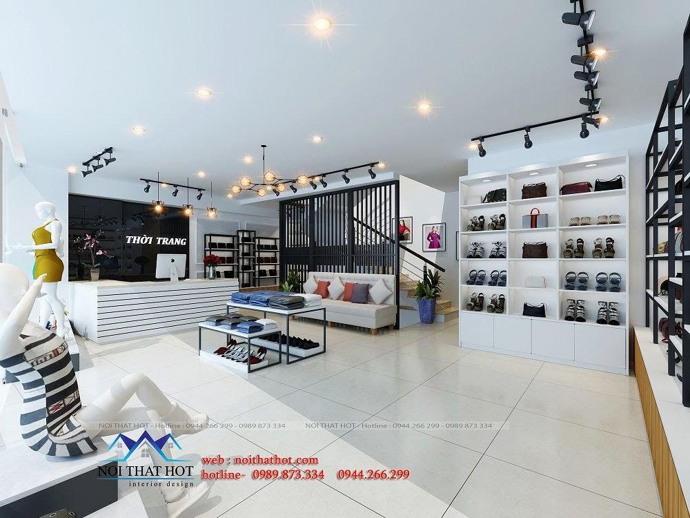 thiết kế shop thời trang chất lượng