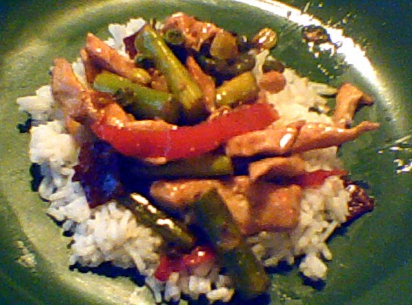 Bacon Chicken Stirfry Recipe