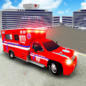 City Ambulance Driving & Rescue Mission Game 2017 icon