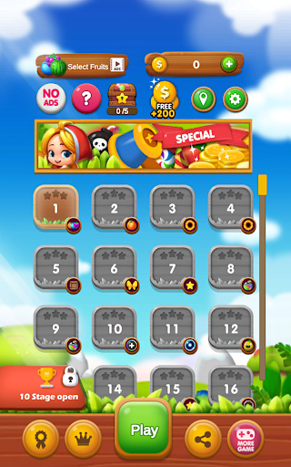 Fruits Crush - Link Puzzle Game 1.0025 screenshots 11