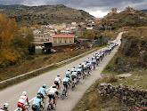 Er zijn twee renners weggereden in de negende etappe van de Vuelta