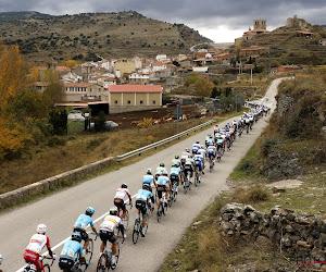 Negende etappe in de Vuelta wordt een rit voor de sprinters: peloton controleert kopgroep van twee renners