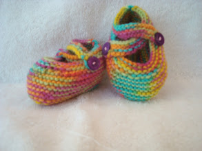 Photo: #11: MultiColored with Purple Buttons, Sz Small