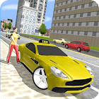 Taxi Driver 3D Simulator Game icon