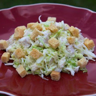 Diet Cabbage Salad With Chicken