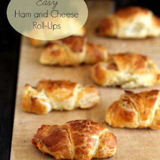Easy Ham and Cheese Roll Ups.