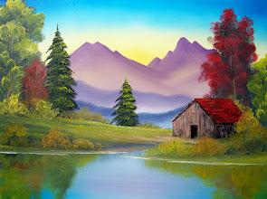 Photo: 2908 Trapper's Cabin 18 x 24 $299.00