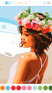 April Coloring – Oil Paint by Number for adults. 2.45.0 Mod + APK + Data UPDATED 1