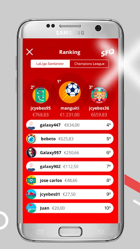 SANTANDER FOOTBALL QUIZ screenshot 7
