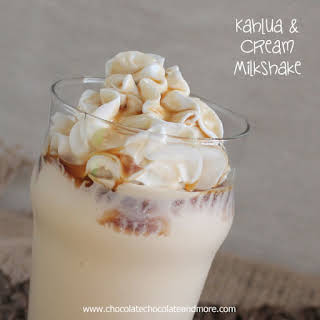 Kahlua and Cream Milkshake.