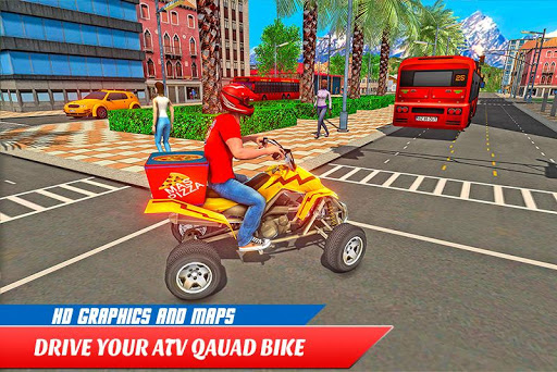 ATV Pizza Delivery Boy  screenshots 2
