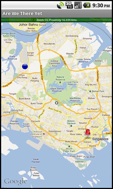 Скриншот Geo Proximate