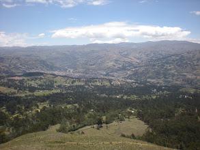 Photo: View of Huaraz.