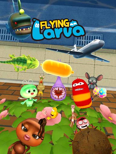 玩免費休閒APP 下載フライングラーバ (Flying LARVA) app不用錢 硬是要APP