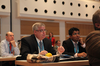 Photo: Kevin Donnellan (center) commenting on Privacy vs Publicity Debate, 2012