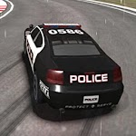 Police Car Real Drift Racing Game 2019 Icon