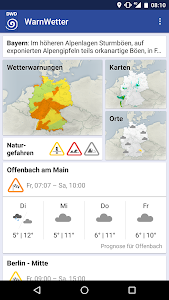 WarnWetter screenshot 0