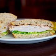 Turkey on Rye (Full Sandwich)