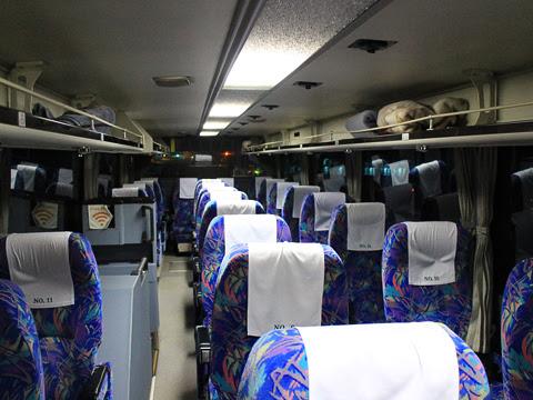 道北バス「サンライズ旭川釧路号」 1040 阿寒湖バスセンターにて その3(車内)