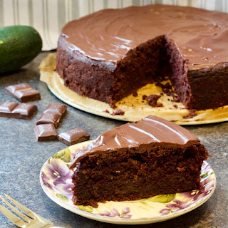 Best Ever Chocolate Courgette Cake.