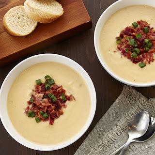 Creamy Slow-Cooker Cauliflower Soup Recipe