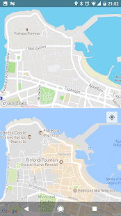 Map Compare - náhled