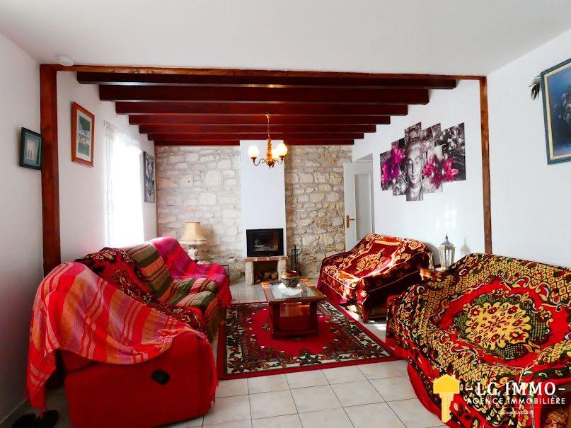 Vente maison 4 pièces 106 m² à Mortagne-sur-Gironde (17120), 154 500 €