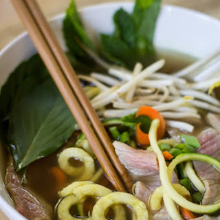 Vietnamese Zoodle Pho.