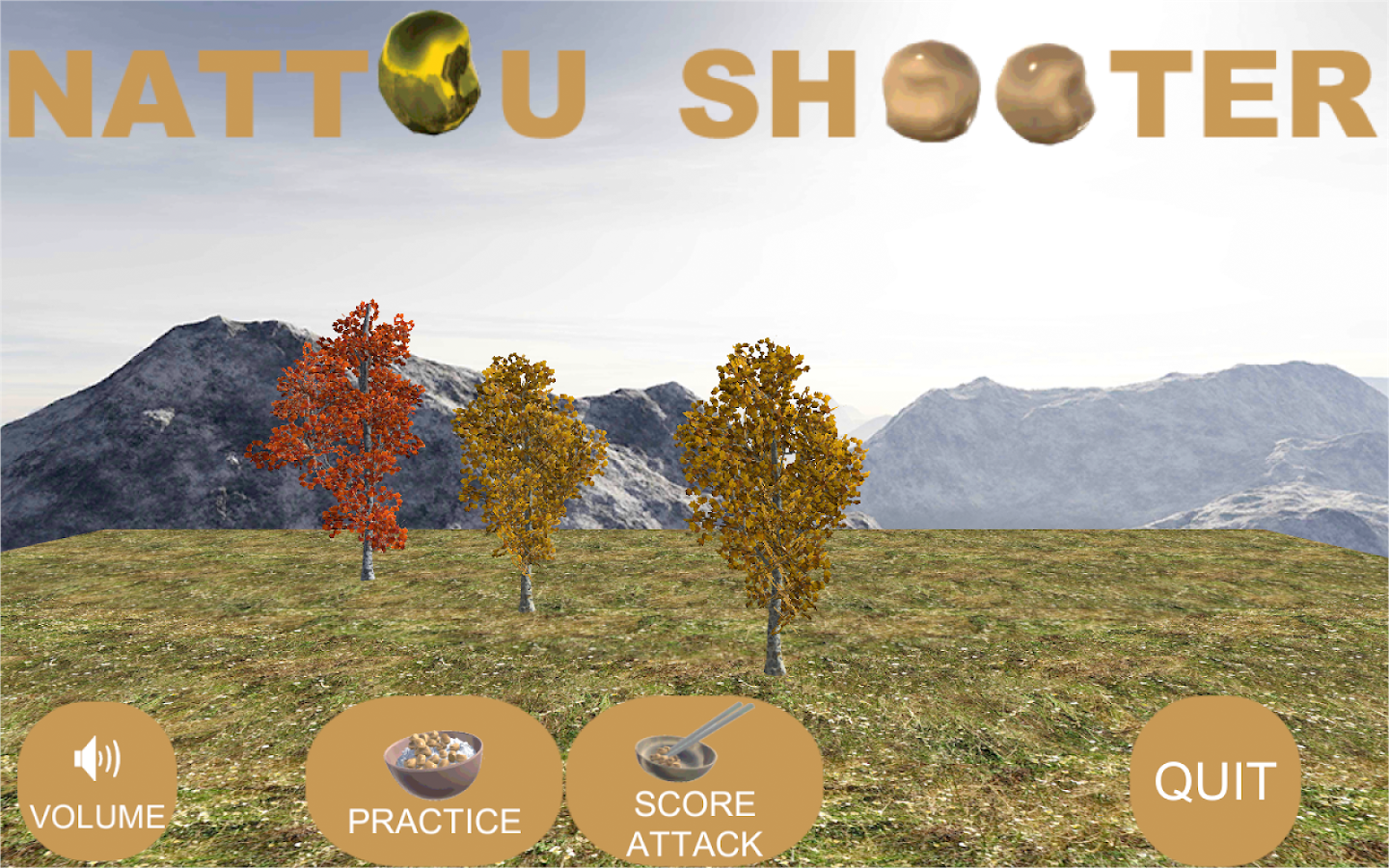 NATTOU SHOOTER- screenshot