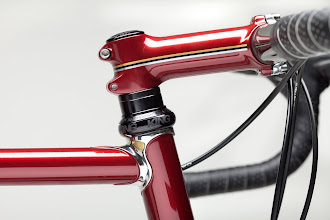 Photo: Ritchey stem, painted to match the frame, with pinstripes to match the ones on the seat tube.