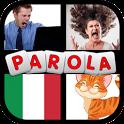 Gioco di Parole in Italiano : 4 Immagini-1 Parola icon