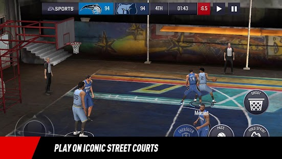 NBA LIVE Mobile Basketball Screenshot