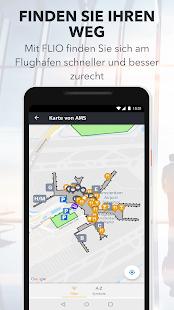 FLIO - die globale Flughafen App Screenshot