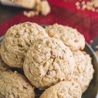 Peanut Butter Apple Pecan Cookies